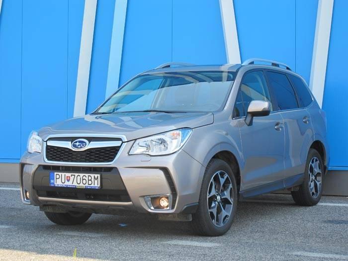 Subaru Forester 2,0D CVT - Pozor na lesníka!